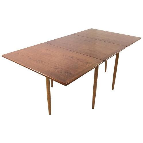 Hans Anderson Danish Teak Gate Leg Table