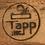 Thumbnail: Fine Rift Oak Dining Table by Johan Tapp
