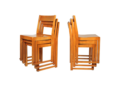 Sven Markelius Dining Chairs Set of 5