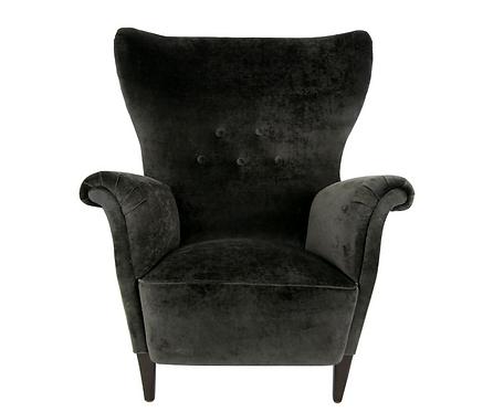 Diminutive Swedish Wing Chair