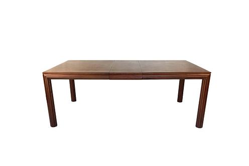Fine Rift Oak Dining Table by Johan Tapp