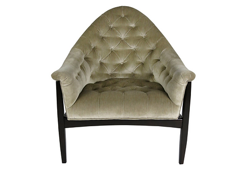 Rare Exposed Frame Lounge Chair by Milo Baughman for Thayer Coggin