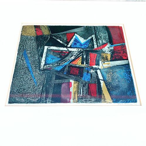 9 x 12 Lithograph by Karl Kasten ca 1955