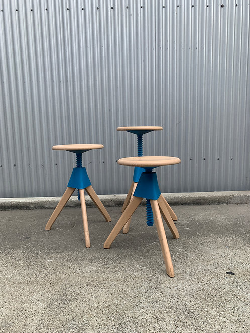 Constantin Grcic The Wild Bunch Stools for Magis (3)