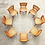 Thumbnail: 1950s Vintage Finn Juhl for Baker Teak Dining Chairs - Set of 8