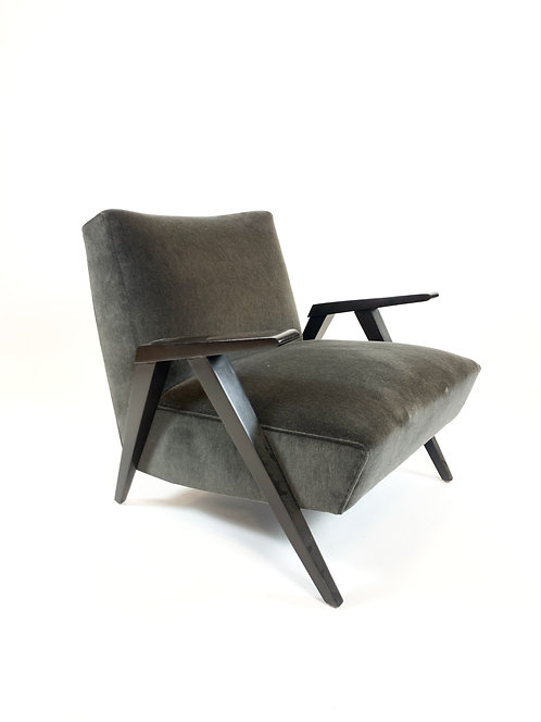 Restored Midcentury Modern Lounge Chair