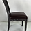 Thumbnail: Set of Eight Cerused Oak Calipso Dining Chairs by B&B Italia