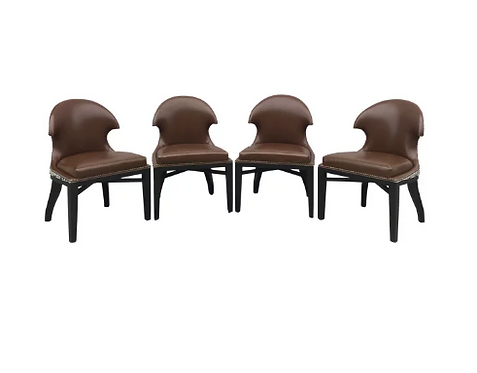 Set of 4 Luxe Dining Chairs