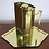 Thumbnail: Brass Pitcher and Tray by Charles Hollis Jones