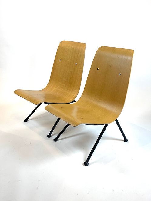 Antony Chairs by Jean Prouve Limited Reissue
