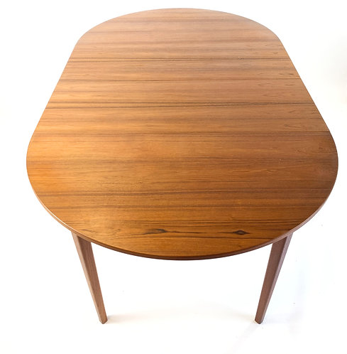 Danish Modern Teak Dining Table by Niels Moller