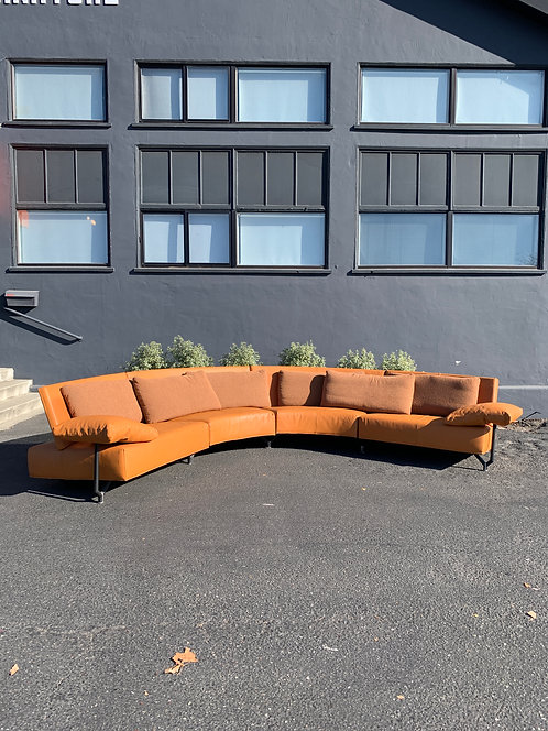 "Montis ""Baku"" Leather Sectional by Niels Bendtsen"