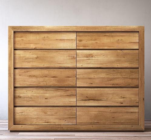 Restoration Hardware Russian Oak Dresser
