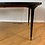 Thumbnail: 1950s Italian Ebonized Black Walnut Extension Dining Table & Chairs Set