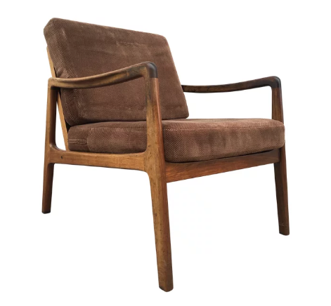 Danish Rosewood Chair by Ole Wanscher
