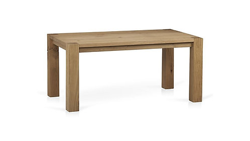 "Crate & Barrel Big Sur Natural 65"" Dining Table"