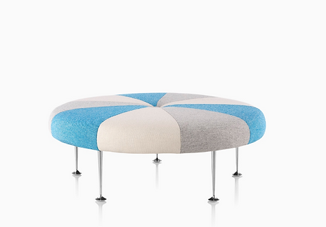 Alexander Girard Color Wheel Ottoman by Herman Miller