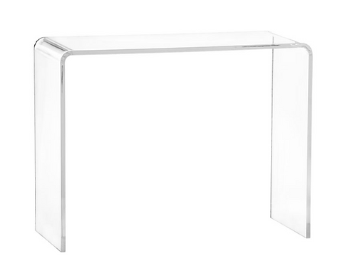 Acrylic Waterfall Table by CB2