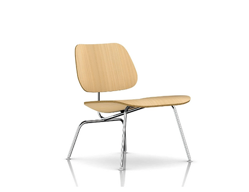 Eames Molded Plywood Lounge Chair - Metal Legs