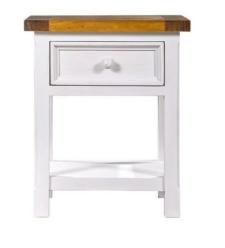 Tuscan Bedside Cabinet - 1 Drawer