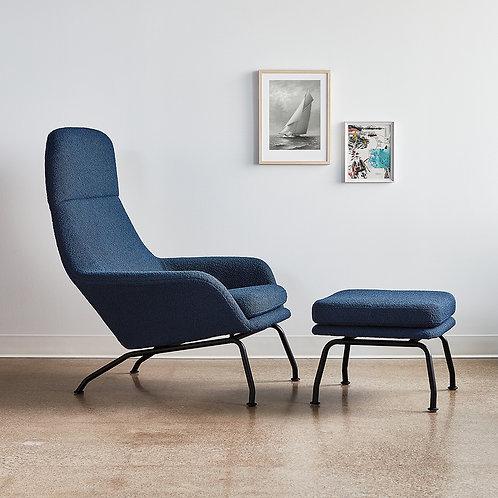 Tallin Chair & Ottoman