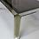 Thumbnail: 70's Chrome & Brass Dining Table by Romeo Rega- Italy