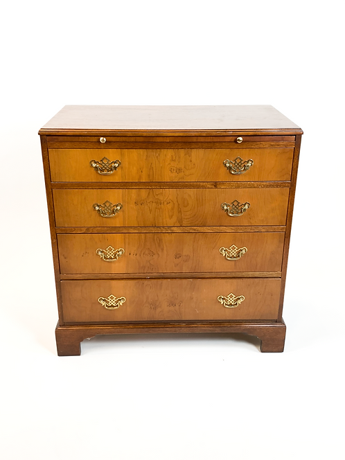 Baker Furniture 7929 Mahogany Chest with Writing Surface