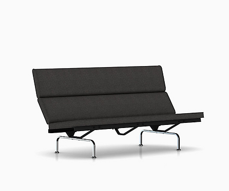 Charles and Ray Eames Sofa Compact for Herman Miller