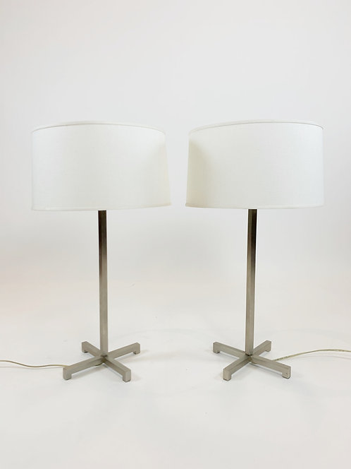 Nessen Studios NY Stainless Steel Table Lamp