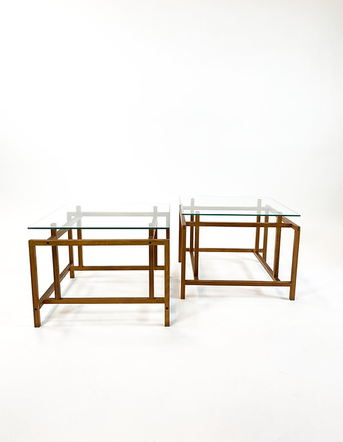 Comfort Danish Modern Teak End Tables