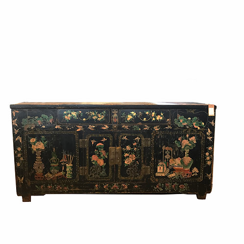 Antiques Chinese Chinoiserie Credenza