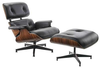 Eames Lounge Chair Rosewood- New Cushions