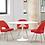 """Thumbnail: Eero Saarinen 36"""" Round White Tulip Table for Knoll"""
