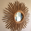 Thumbnail: 1980s Boho Chic Wooden Sunburst Mirror