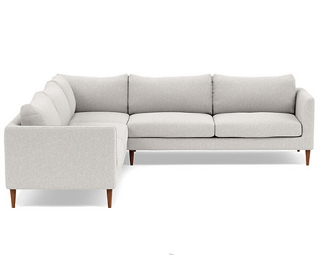 Interior Define Owens Corner Sectional, Pebble