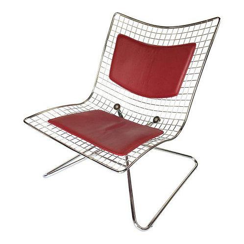 Bertoia Style Wire Swivel Chair
