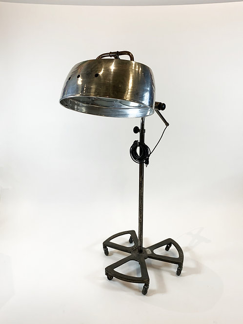 Vintage 1950's French Industrial Lamp