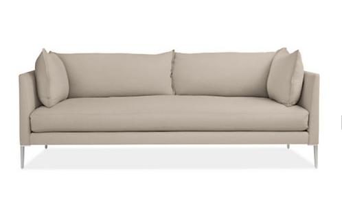 "Room & Board 84"" Palm Cushion Sofa"