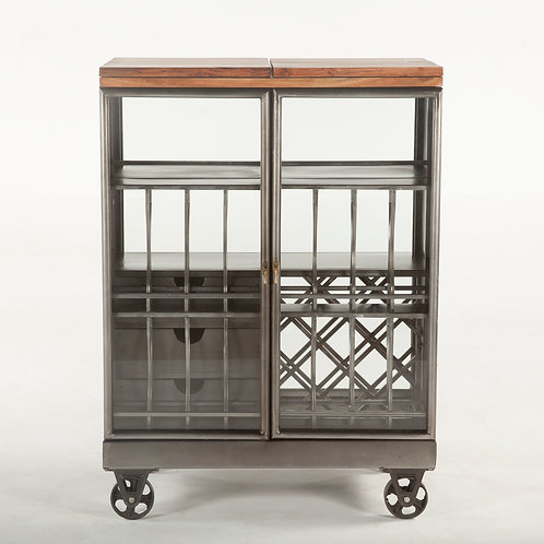 Pittsburgh Iron Bar Cabinet