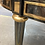 Thumbnail: Gunmetal and Brass Dining Table in the Style of Maison Jansen