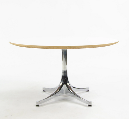George Nelson for Herman Miller Swag Leg Pedestal Coffee Table
