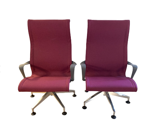 Vintage Herman Miller Setu Chairs- A Pair