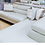 Thumbnail: Italian Bone White Leather Sectional by Max Divani