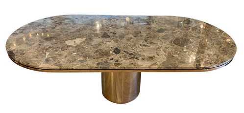 J Wade Beam for Brueton Oval Marble Table