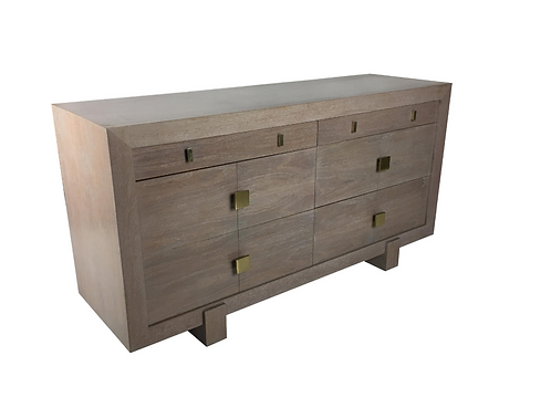 Exceptional Driftwood Finished Dresser