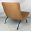 Thumbnail: Early Scoop Chair by Milo Baughman, Wrought Iron Base