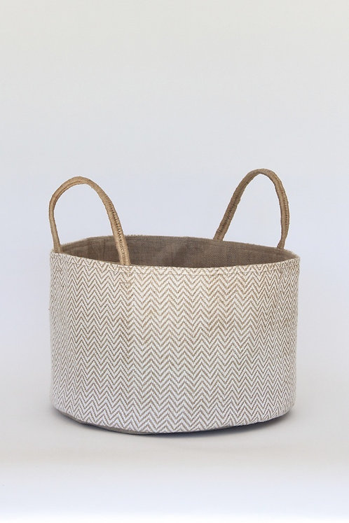 Medium Loomed Basket