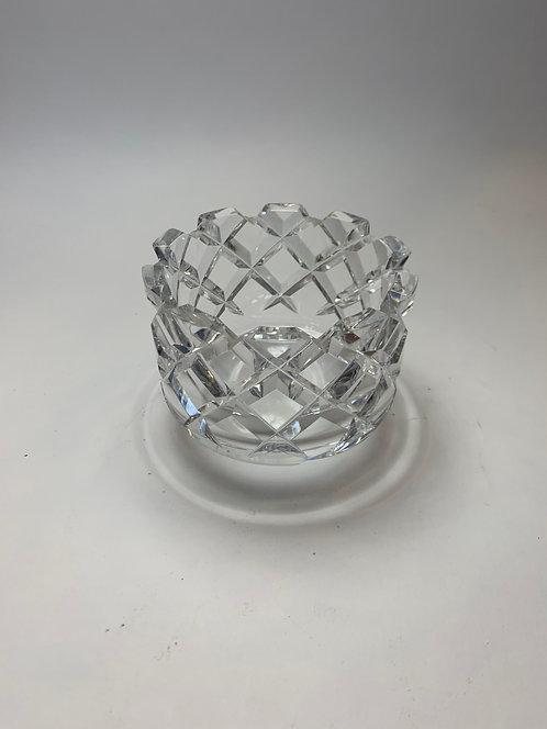 "Swedish Orrefors 3.5"" Lead Glass Vase"