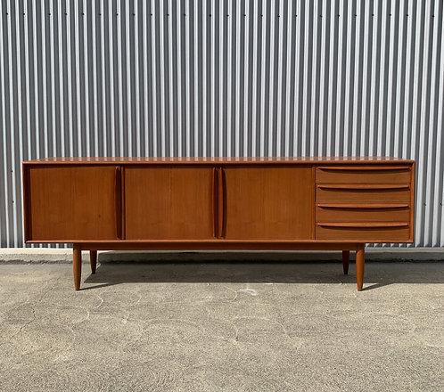 Exquisite Vintage Danish Teak Credenza- Furniture Guild Designer