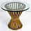 Thumbnail: Classic Rattan Sheaf Form Lounge Table by McGuire